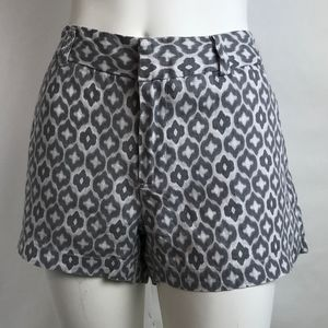 Cynthia Rowley Gray Linen Shorts With Pockets  6